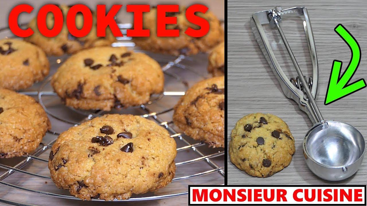 Cookies Au Monsieur Cuisine Connect Recette Thermomix Compatible Mc Plus