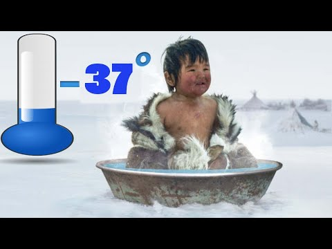 -37'c के तापमान में ये लोग कैसे नहाते है|This Is How People Shower in the Coldest Place in the World