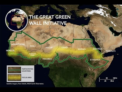Great Green Wall of Africa and Ancient Farming