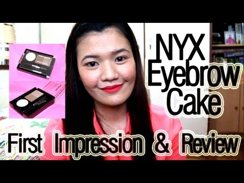 NYX Eyebrow Cake: First Impression & Review | makeupbykarlamisa