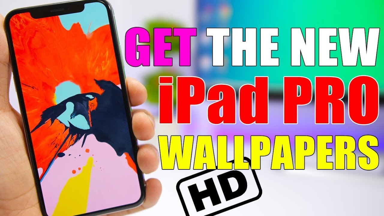 Get The New Ipad Pro Wallpapers On Any Device Youtube