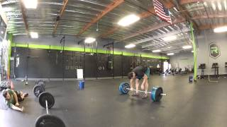 Mark Restelli - Legendary Competitors qualifier WOD 1 - Complex