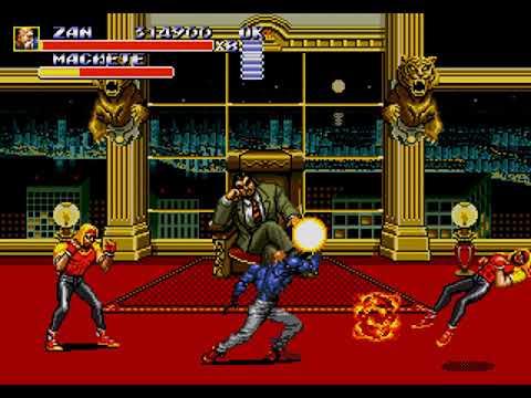 SUPER ZAN Streets of Rage 3 speedrun 34:53 - YouTube  |Streets Of Rage 3 Zan
