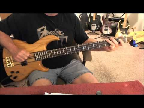Styx - Renegade - Bass Cover