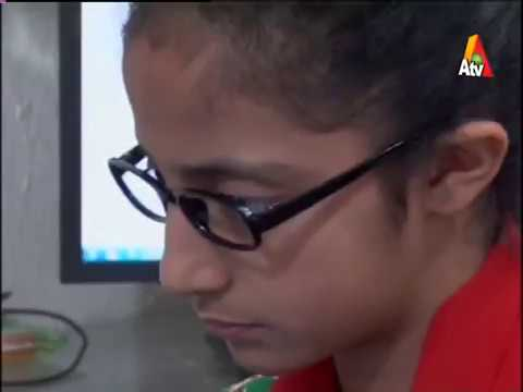 Rooma Syedain,World Yongest Certified Ethical Hacker, 13 Year old, Atv News ,