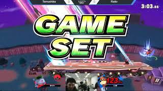 上スマ3 CND|Raito(ポケモントレーナー)vs たむしか(ダックハント)- Tamushika(Dackhant)vs CND|Raito(Pokemontraner)- スマブラSPオフ大会