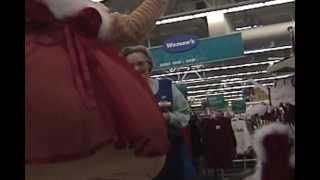 Naked Santa kicked out of Walmart