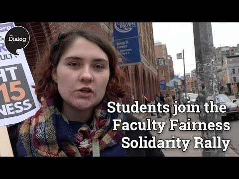Students for Faculty Fairness Solidarity Rally