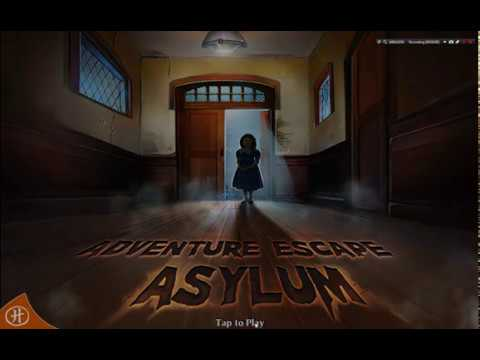 Adventure Escape Asylum. FULL Game Walkthrough - Chapter 1 2 3 4 5 6 7 8 9 10.