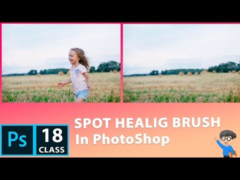 Remove Girl from Image in PhotoShop CC 2019   PhotoShop Tutorial for beginner in Hindi thumbnail