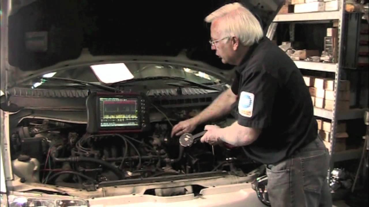 2005 Xterra Ecm Wiring Diagram Nissan Distributor Cam Sensor Fault Youtube