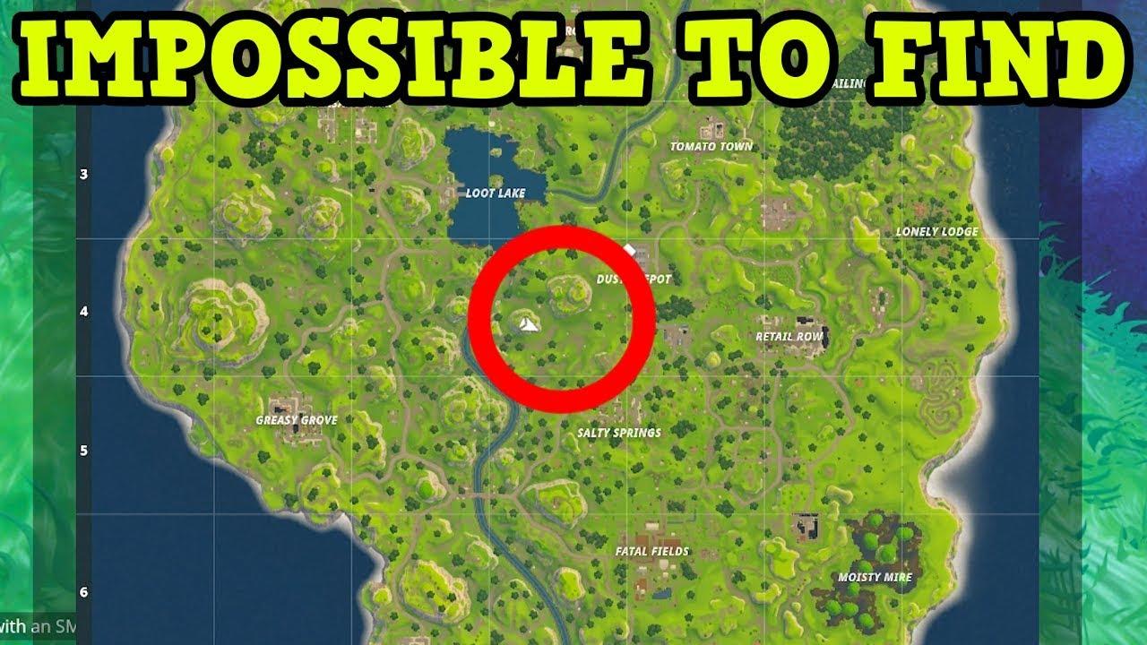 Fortnite Battle Royale - Hardest To Find Spawn Location ...