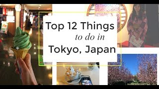 Top 12 Things To Do in Tokyo, Japan