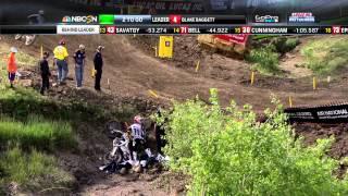 Thunder Valley 250 Moto 2: Zach Bell Crash