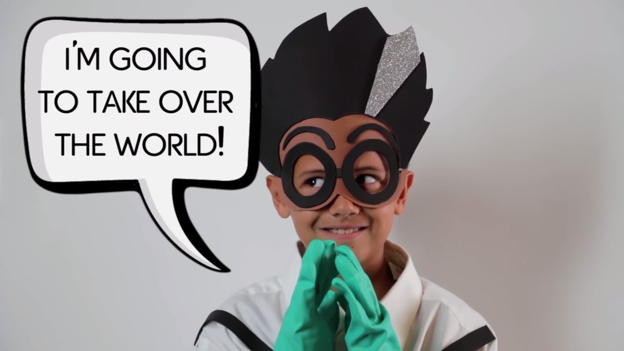 PJ Masks | Creations - DIY Halloween Costume for PJ Masks Villain ROMEO | Cartoons for Children #10 & PJ Masks | Creations - DIY Halloween Costume for PJ Masks Villain ...