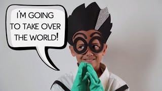 PJ Masks | Creations - DIY Halloween Costume for PJ Masks Villain ROMEO | PJ Masks Official #10
