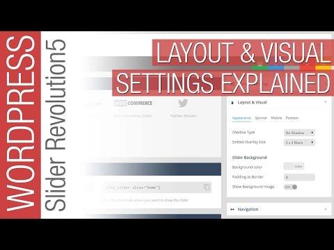 Slider Revolution 5 - Layout & Visual Settings for Beginners - 동영상