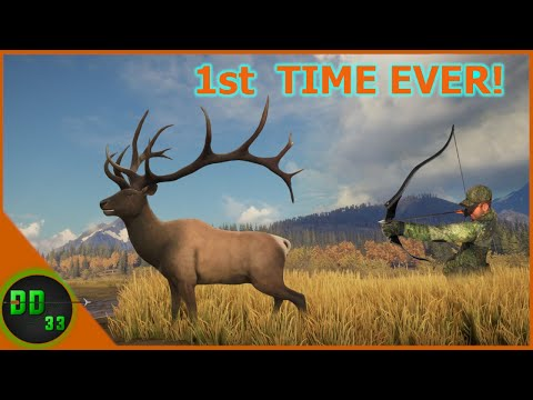 Recurve Hunting Roosevelt Elk For The 1st TIME!! Call Of The Wild