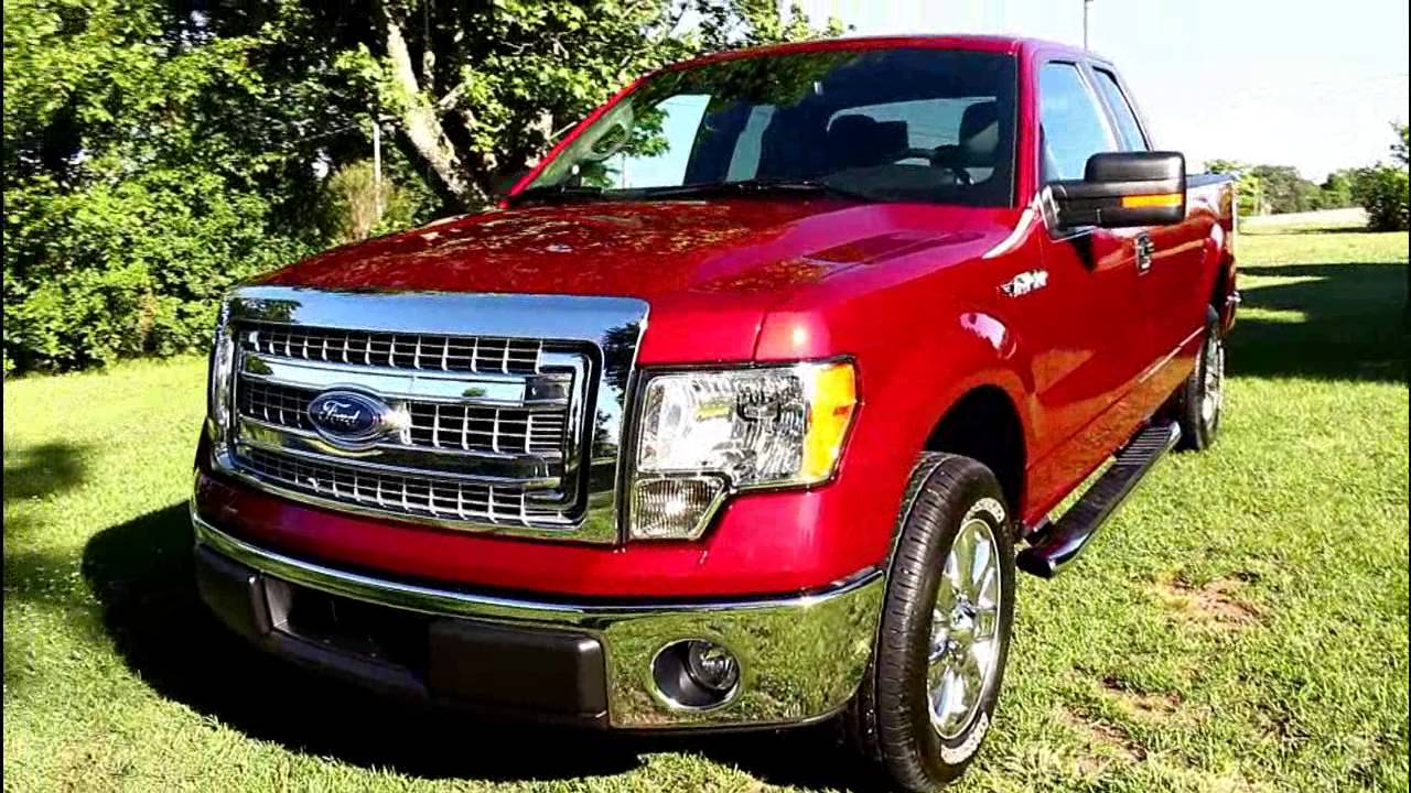 2014 Ford F-150 XLT Supercab - YouTube