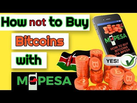 How NOT to Buy Bitcoin in Kenya using M-Pesa