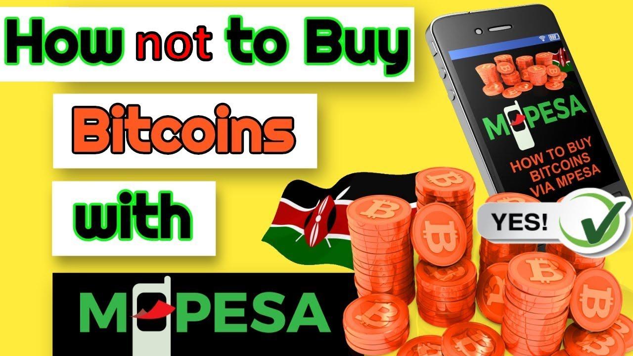 Wie kaufe ich Bitcoin in Kenia mit Mpesa?