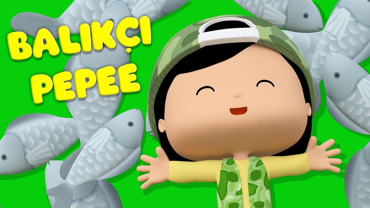 Pepee - Balıkçı Pepee - Kaptan Pepee Yüzmeyi Öğreniyor YENİ - Çizgi Film & Çocuk Şarkıları | Düş