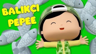 Pepee - Balıkçı Pepee - Kaptan Pepee Yüzmeyi Öğreniyor YENİ - Çizgi Film & Çocuk Şarkıları   Düşyeri