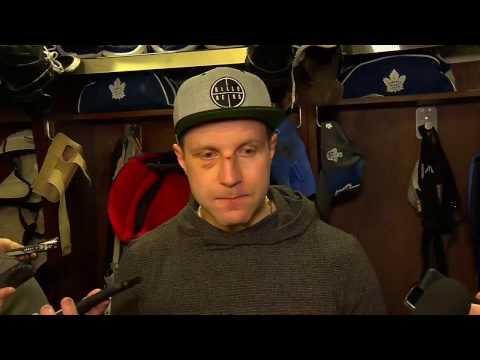 Maple Leafs Locker Clean Out: Leo Komarov - April 25, 2017