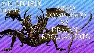 ARCO COMPUESTO VS DRAGON BOQUIABIERTO SIN RECIBIR DAÑO   DARK SOULS REMASTERED