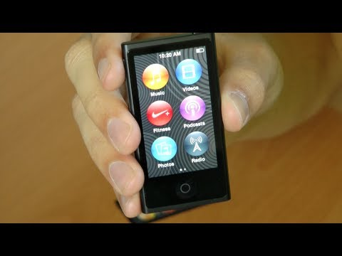 Unboxing & First Look: iPod nano 7G