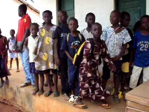 School Supplies for Catio, Guinea-Bissau