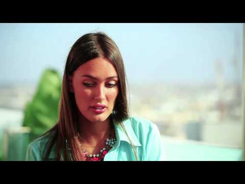 Simobb on Alarabiya English Interview # 7- Supermodel Amina El Allam