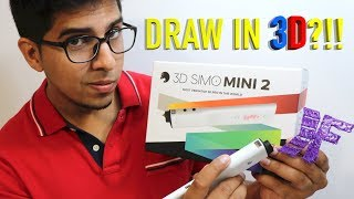 UNBOXING & LET'S PLAY - 3DSIMO MINI 2 - Most Versatile 3D Pen in the World?