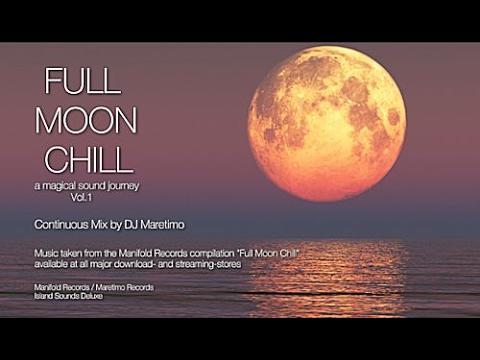 DJ Maretimo - Full Moon Chill Vol.1 (Full Album) HD, 2017, 2+Hours Space Night Music