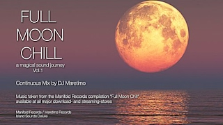 DJ Maretimo - Full Moon Chill Vol.1 (Full Album) HD, 2018, 2+Hours Space Night Music