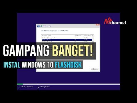 Cara Install Windows 10 Pro dari Flashdisk - Bootable Drive  | CUMA BUTUH 8 GB !!!.