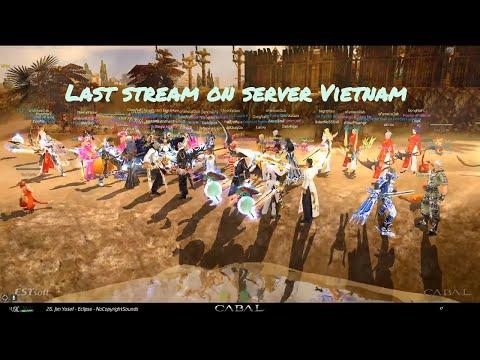 CABAL (Blader) - Last stream on server Vietnam - (09/19/2016)