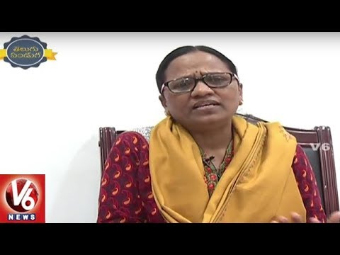 Face To Face Interview With Poet Jupaka Subhadra Over World Telugu Conference | V6 News