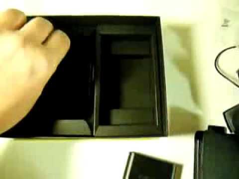 SAMSUNG I900 WITU (Omnia) 16GB Premium Pack Unboxing