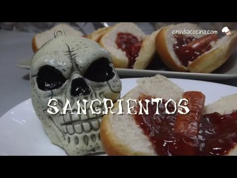 Dedos Sangrientos de Salchicha - Receta para HALLOWEEN, Super Rápida!