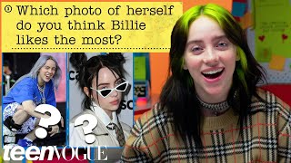 Billie Eilish Guesses How 4,669 Fans Responded to a Survey About Her | Teen Vogue
