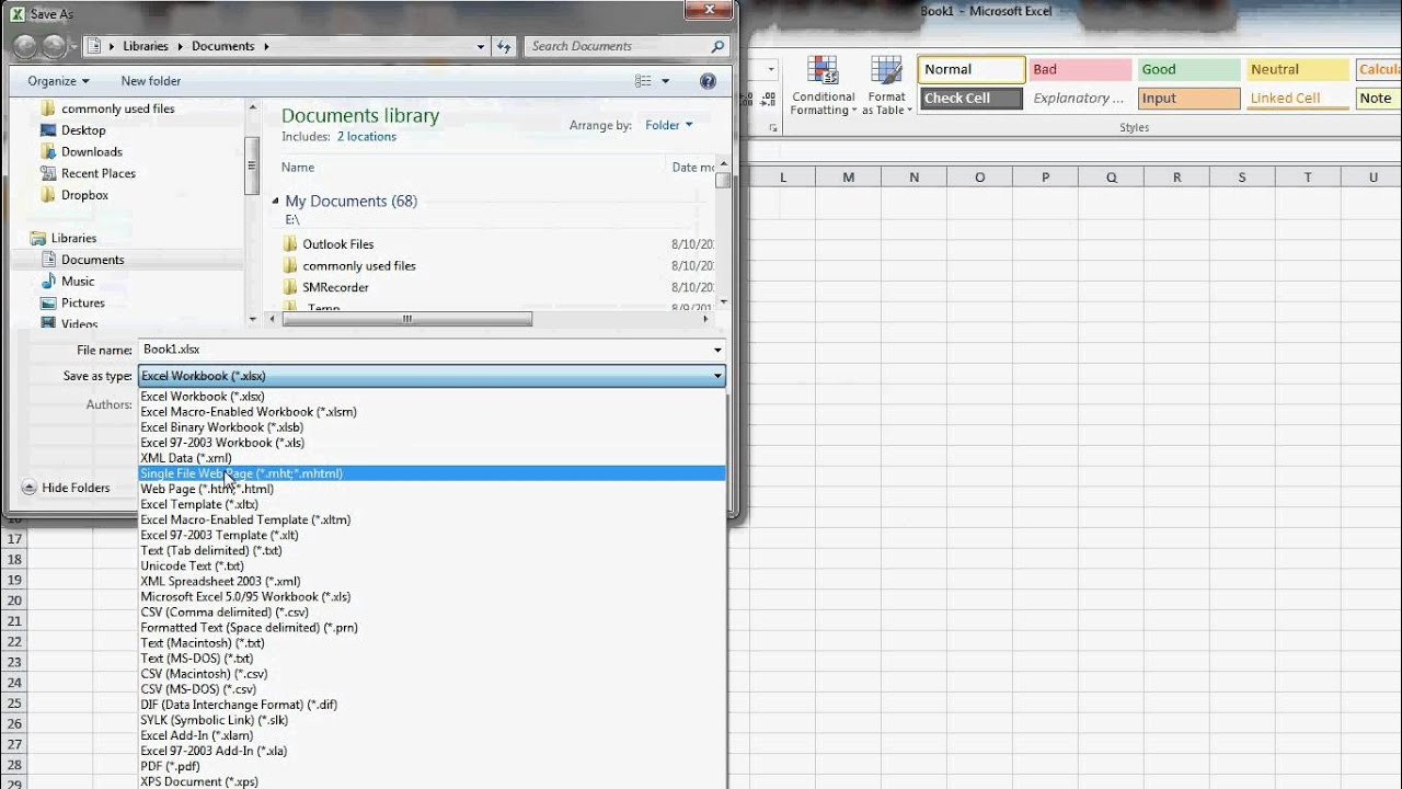 How To Make An Excel Template Youtube