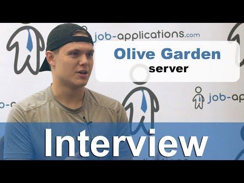 Olive Garden Interview – Server