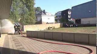 septembre 2020 intervention des pompiers (exercice incendie) eclos vlm