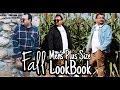 #mensplussize #falllookbook #plussize 3 EASY MEN'S PLUS SIZE LOOKS | FALL LOOK BOOK | TONYDELAROCHA