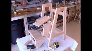 Folding Step Stool Part 2  Optional Jointery
