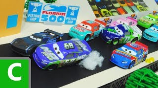 Cars 3 : H.J. Hollis And Piston Cup Race! - StopMotion thumbnail