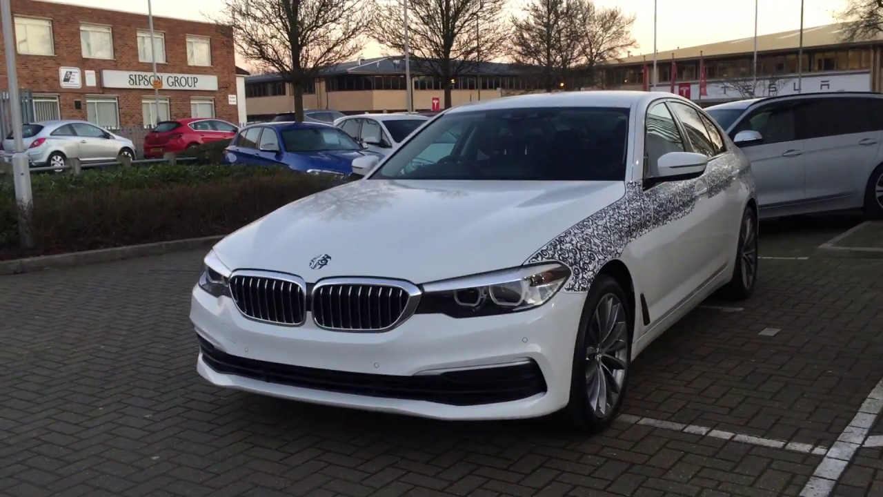 2017 All New Bmw 5 Series G30 535d Exterior Review