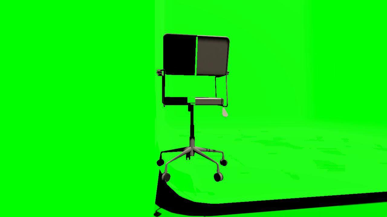 Green Screen Effects 82892 Office Chair Dottore Grey