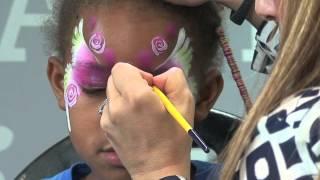 Rose Garden Fairy: Face Painting Tutorial Thumbnail